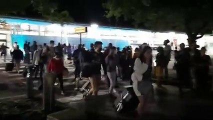 Des renforts soignants hués, insultés et menacés à l'aéroport de Martinique