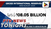 End-August 2021 GIR level rises to US$108-B