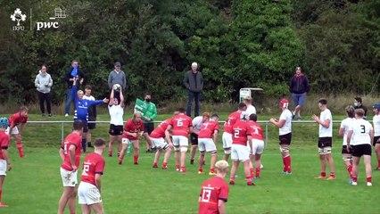 Irish Rugby TV Ulster V Munster U19 Interpro 13.09.21