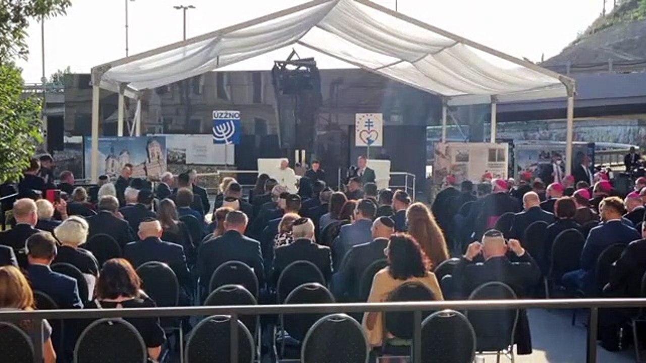 ZÁZNAM: Pápež na stretnutí s predstaviteľmi židovskej komunity