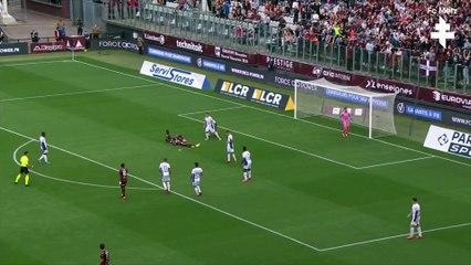 Metz - Troyes, Pape Matar Sarr Grenat du match