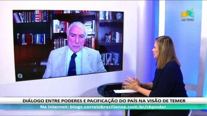 CB.PODER: Michel Temer, ex-presidente - 13/9