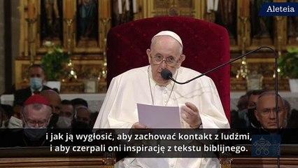 Franciszek: to mnie niepokoi!