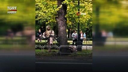 Letonya'da Sokak Ortasında Korkutan Askeri Tatbikat | Türkiye Gazetesi