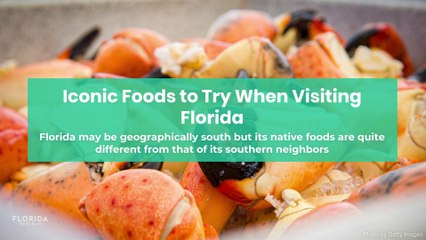 Iconic foods to try when visiting Florida