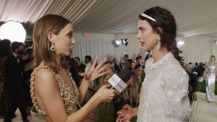 Margaret Qualley Took Her Gala Inspiration From Chanel