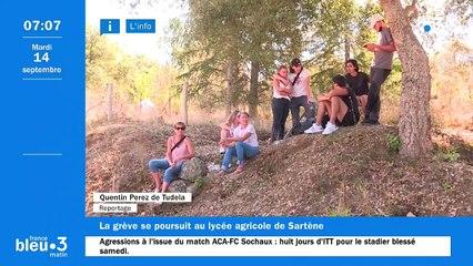 14/09/2021 - Le 6/9 de France Bleu RCFM en vidéo