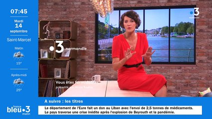 14/09/2021 - Le 6/9 de France Bleu Normandie en vidéo
