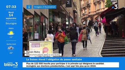 14/09/2021 - Le 6/9 de France Bleu Belfort Montbéliard en vidéo