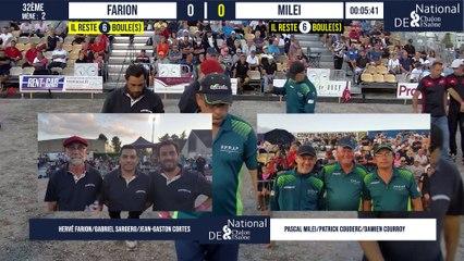 32ème FARION vs MILEI : National à pétanque de Chalon-sur-Saône 2021