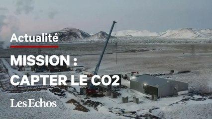 Les images de la plus grande usine de captage de CO2 dans l'air