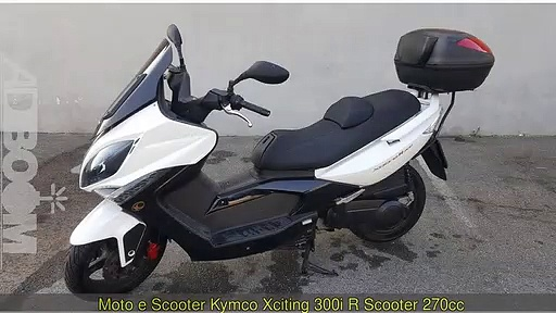 KYMCO Xciting 300i R Scooter