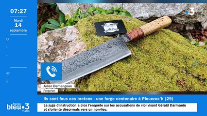 14/09/2021 - Le 6/9 de France Bleu Breizh Izel en vidéo