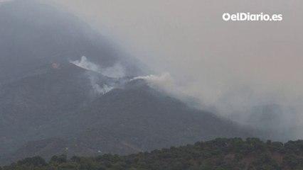 El incendio de Málaga está controlado