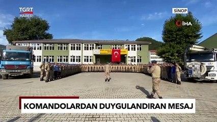 Selin Ardından Komandolar Ayancığa Veda Etti Veda | Türkiye Gazetesi