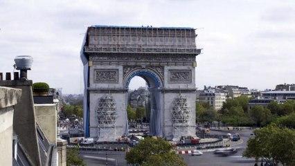 L'Arc de Triomphe, Wrapped de Christo y Jeanne-Claude