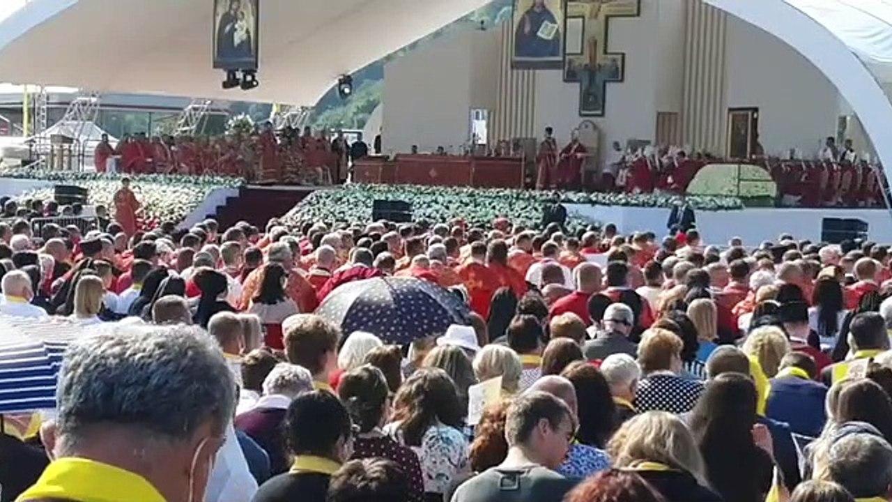 ZÁZNAM: Pápež v homílii poukázal na význam kríža a vydávanie svedectva