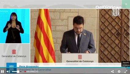 Aragonès deja a Junts fuera de la mesa de diálogo a la espera de que designen miembros del Govern