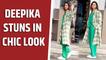 Deepika Padukone stuns in chic look