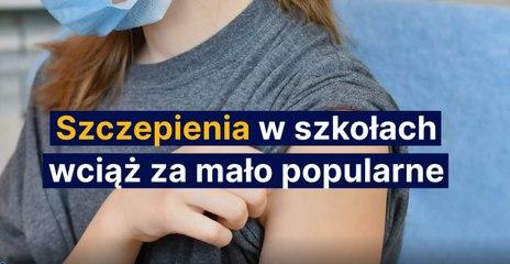 Szczepienia w szkołach wciąż za mało popularne