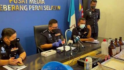 豪华公寓充海洛因炼毒屋  7男落警网起获值18万毒品