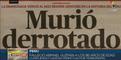 Muerte de cabecilla terrorista devela post verdad elaborada contra presidente de Perú