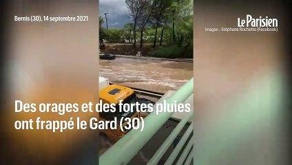 Le Gard frappé par de violentes inondations