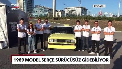Hurdalıktan Aldıkları 1989 Model Serçeden Şoförsüz Taksi Yaptılar