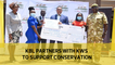 KBL partners with KWS to support conservation