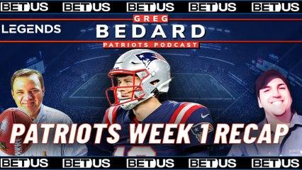 Patriots vs Dolphins Week 1 Recap