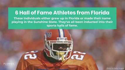 6 Hall of Fame Athletes from Florida