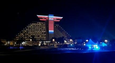Hotel en Catar conmemora el Bicentenario de Costa Rica