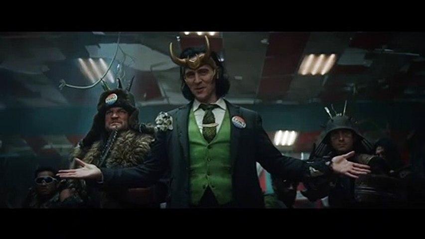 LOKI 'Clock' Trailer (2021) Tom Hiddleston MCU Disney+ Series