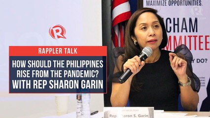 Rappler Talk: Sharon Garin on how the Philippines should rise from the pandemic