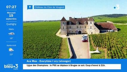 15/09/2021 - Le 6/9 de France Bleu Bourgogne en vidéo