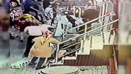 Esenyurt'ta motosikletli saldırgan dehşet saçtı