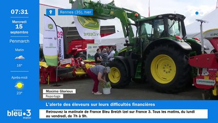 15/09/2021 - Le 6/9 de France Bleu Breizh Izel en vidéo