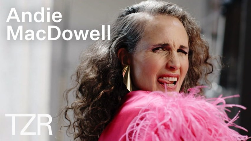 Andie MacDowell Reveals The Messages She'd Tell Her Past Self | TZR