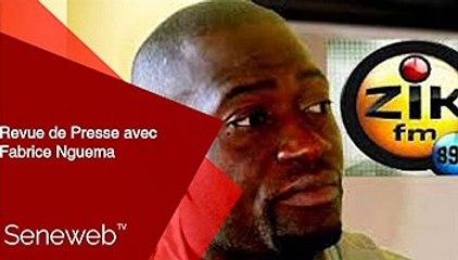 Revue de Presse du 15  Septembre 2021 avec Fabrice Nguema