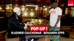 Vladimir Cauchemar & Benjamin Epps : Blizzard en live dans Pop Up !