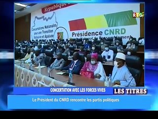 Rencontre CNRD avec les acteurs socio-politiques  : Voici les grandes décisions
