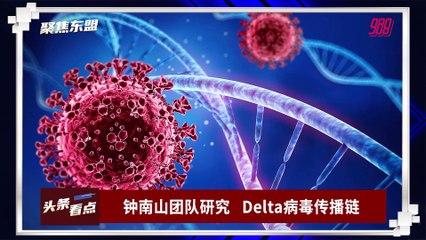 【聚焦东盟 16-09-21】钟南山团队研究        Delta病毒传播链