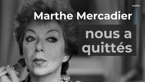 Marthe Mercadier, reine du théâtre de boulevard, est décédée