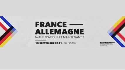 Conférence France – Allemagne : 16 ans d'amour et maintenant ?