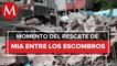 Cuerpo localizado tras derrumbe en Cerro del Chiquihuite es de niña Mía, menor de 3 años