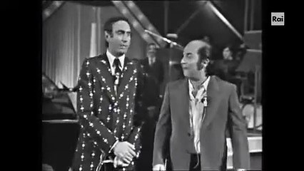 LINO BANFI & PIPPO BAUDO DA SENZA RETE 1974