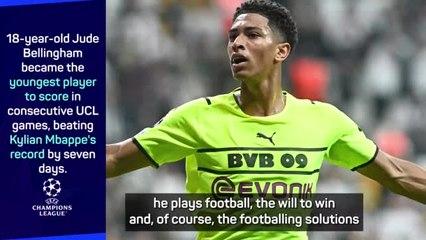 Rose delighted with 'extraordinary' Bellingham as Dortmund beat Besiktas