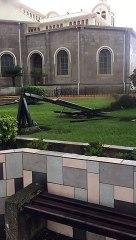 Torbellino en Cartago: Casas destechadas y misas canceladas en la Basílica