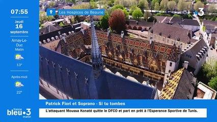 16/09/2021 - Le 6/9 de France Bleu Bourgogne en vidéo