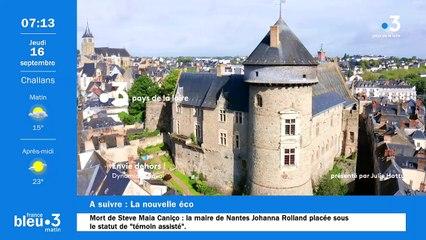 16/09/2021 - Le 6/9 de France Bleu Loire Océan en vidéo
